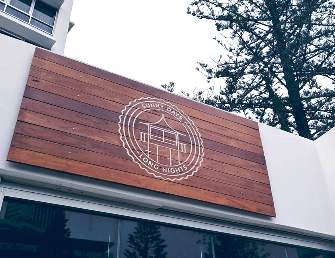 Signage design by by Oven Creative Agency, Gold Coast.